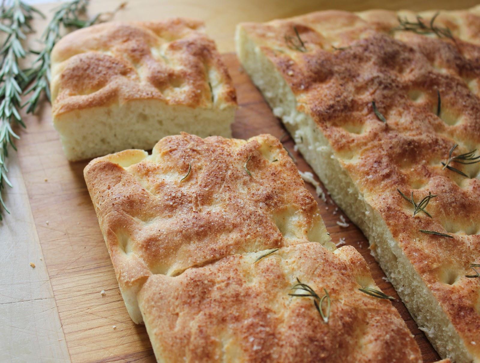 laughingspatula.com: Homemade Focaccia Bread with Fresh ...