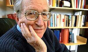 Noam Chomsky ir a su biblioteca virtual