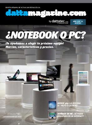 Imagen de la portada de la revista de DattaMagazine