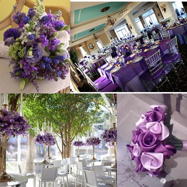 decoracao branco e lilas para casamento: de como decorar seu casamentos nas cores roxo, lilás e branco