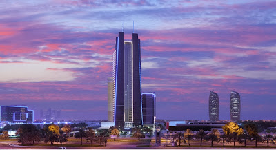 Dusit Thani Abu Dhabi can be found in the UAE capital's new business and government district