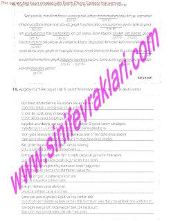 8.Sinif Turkce Enderun Yayinlari Calisma Kitabi Cevaplari Sayfa 38