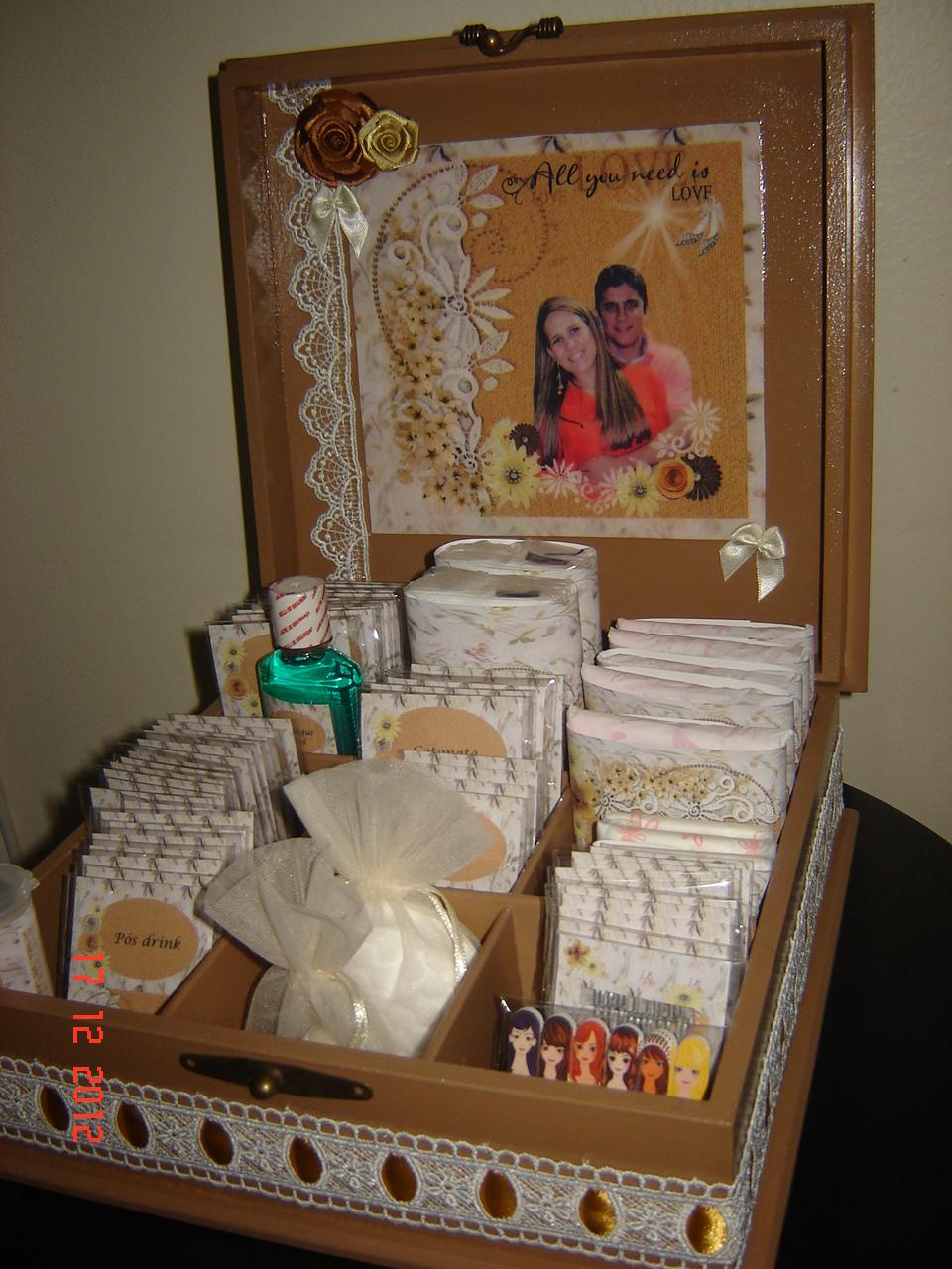 Kit Toalete Casamento Rústico : Marina ciollaro fazendo arte kit toalete casamento