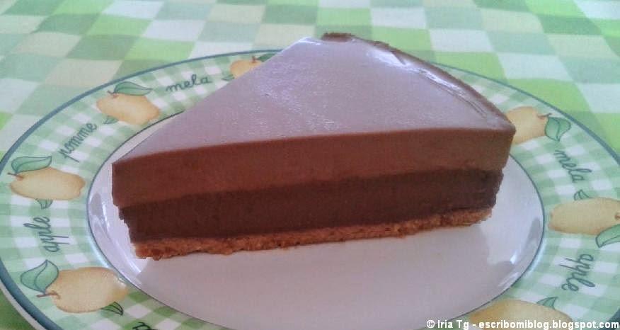 Tarta chocolates sin lactosa