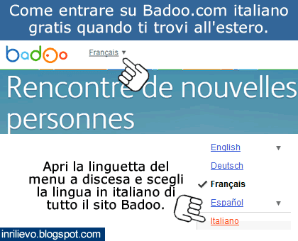 badoo in italiano video massaggi sensuali