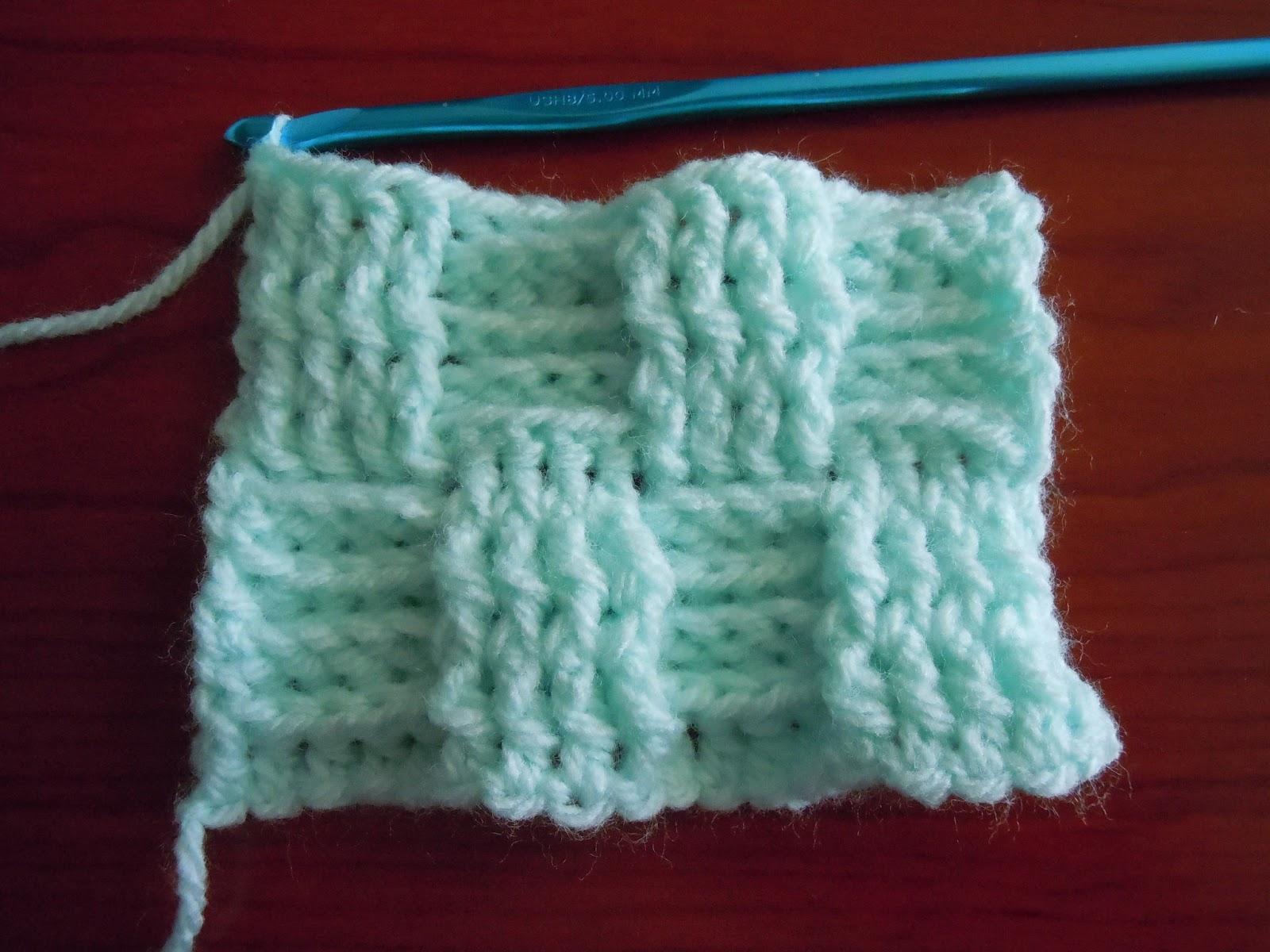 Basket Weave Tutorial Crochet : Illuminate crochet special edition basketweave tutorial
