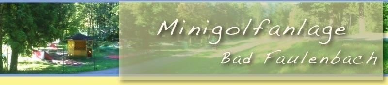 Minigolfanlage Bad Faulenbach