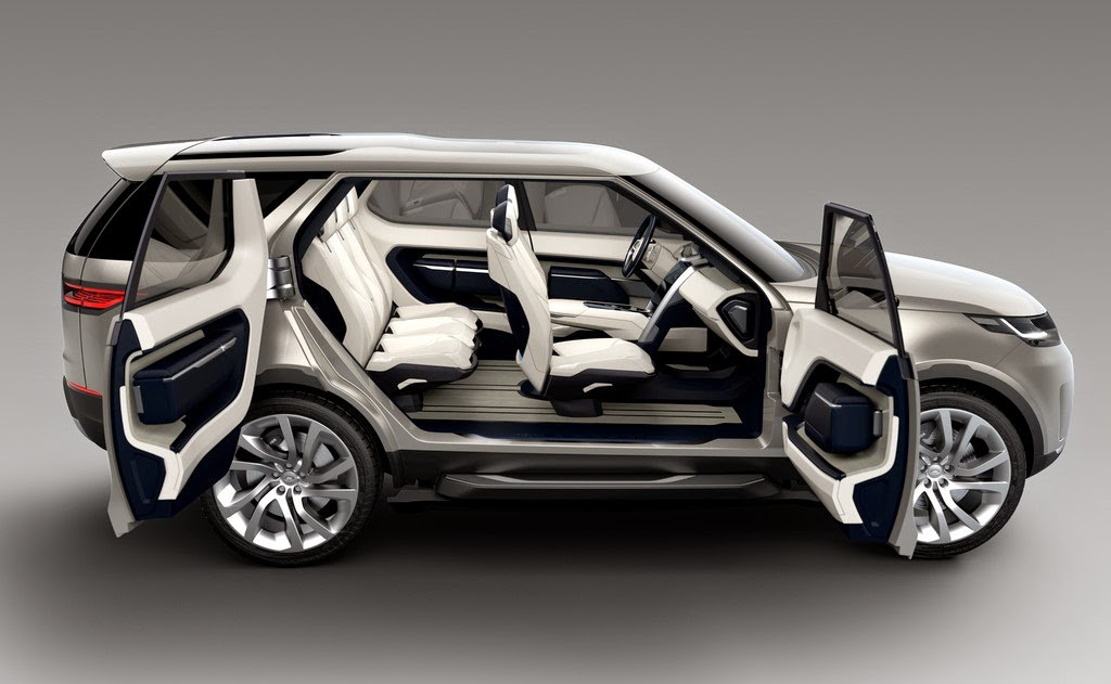 2014 Land Rover Discovery Vision Interior