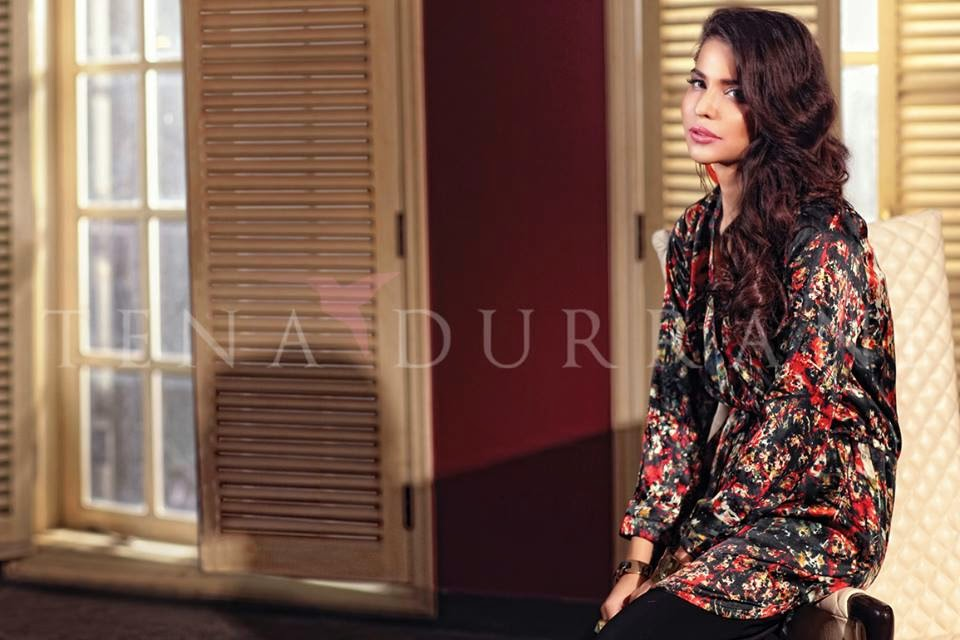 Tena Durrani Summer Prints 2015 Collection