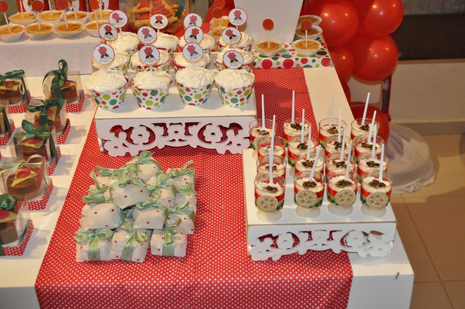 decoracao festa xadrez:Linda festa com super decoração de pizza, usando tecidos xadrez