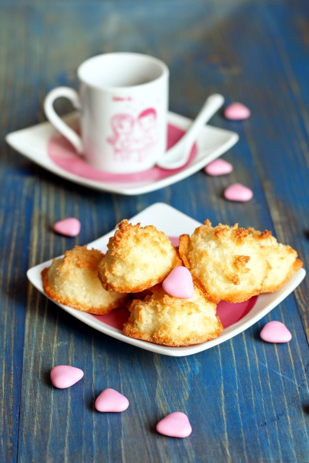 biscotti al cocco facili e veloci: gluten-free, senza grassi e senza latte!