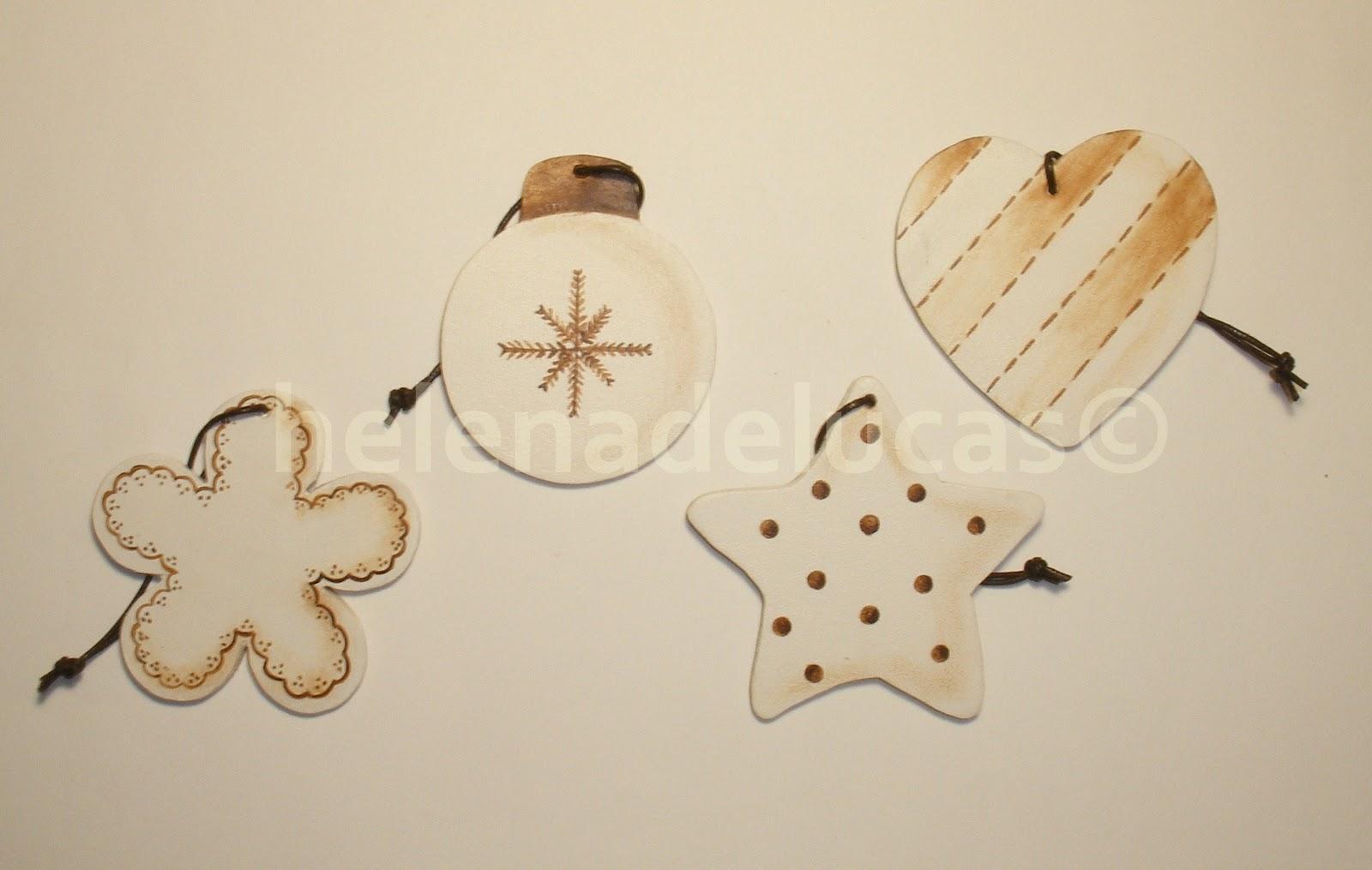 Helenadelucas adornos de navidad hechos a mano - Adornos de navidad hechos a mano por ninos ...