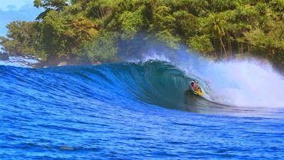 Nias Island Best Surfers in the World to Lagundri Beach