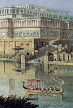 Jardín colgante de Babilonia