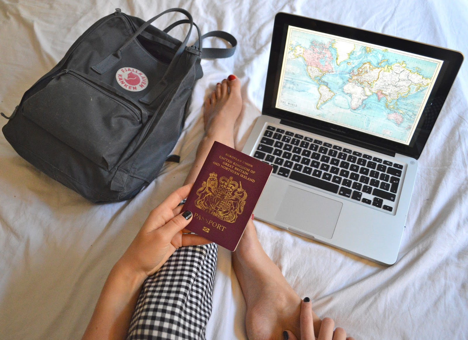 Travel blogger two years abroad