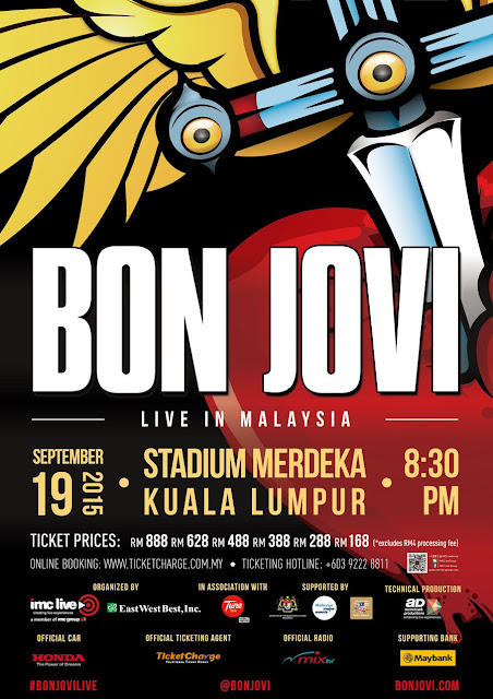 Bon Jovi Live In Malaysia