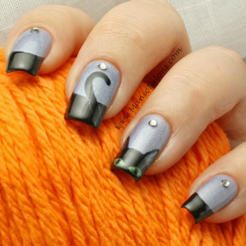 Purple nail art designs acrylic nail designs - Manic Talons Gel Polish And Nail Art Blog Couture Gel