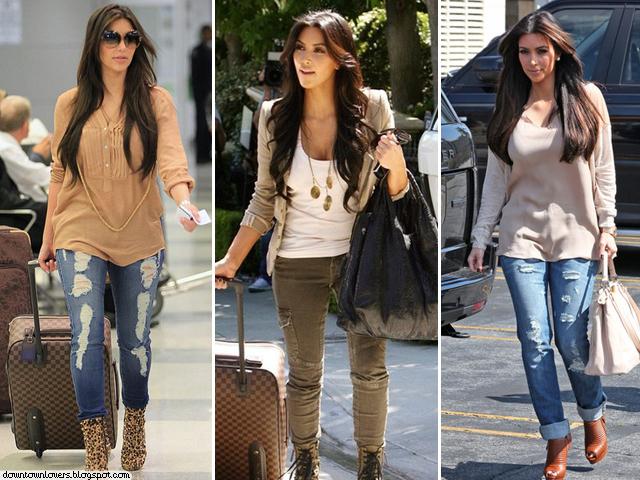 Estilo Kim Kardashian, Kim Kardashian, Kim Kardashian jeans, Kim Kardashian calças, Kim Kardashian nude, Kim Kardashian neutro, Kim Kardashian jeans rasgados, Kim Kardashian casual