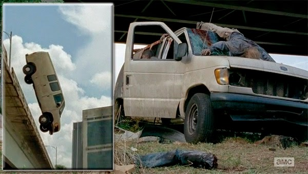 Accidente de Carol y Daryl en The Walking Dead 5x06 - Consumed