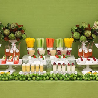 Fruit and vegetable display