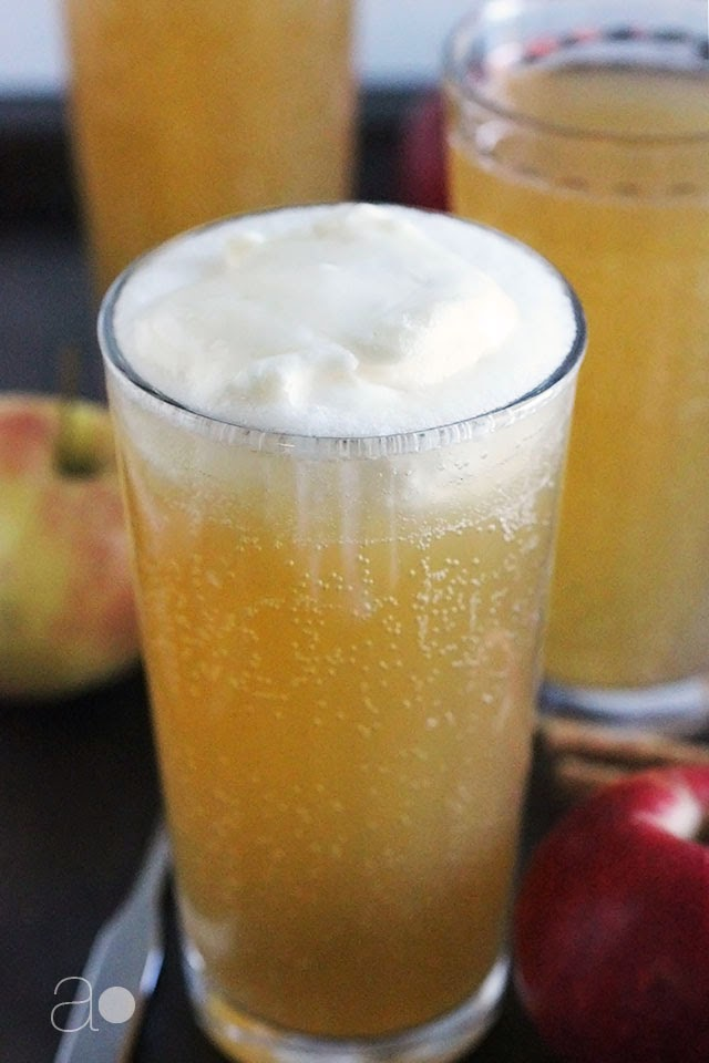 ambrosia: Apple Cider Soda Float