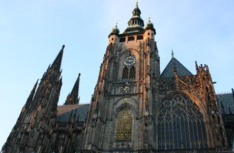Catedral de San Vito, Castillo de Praga