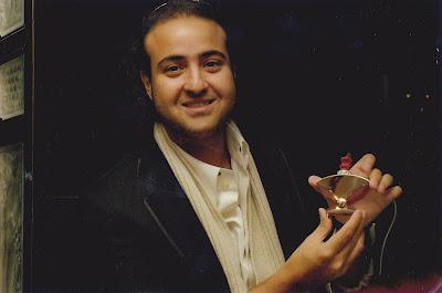 Prince Faisal Bin Fahad Bin Abdullah Al Saud with HRH Arfaq's V1 perfume