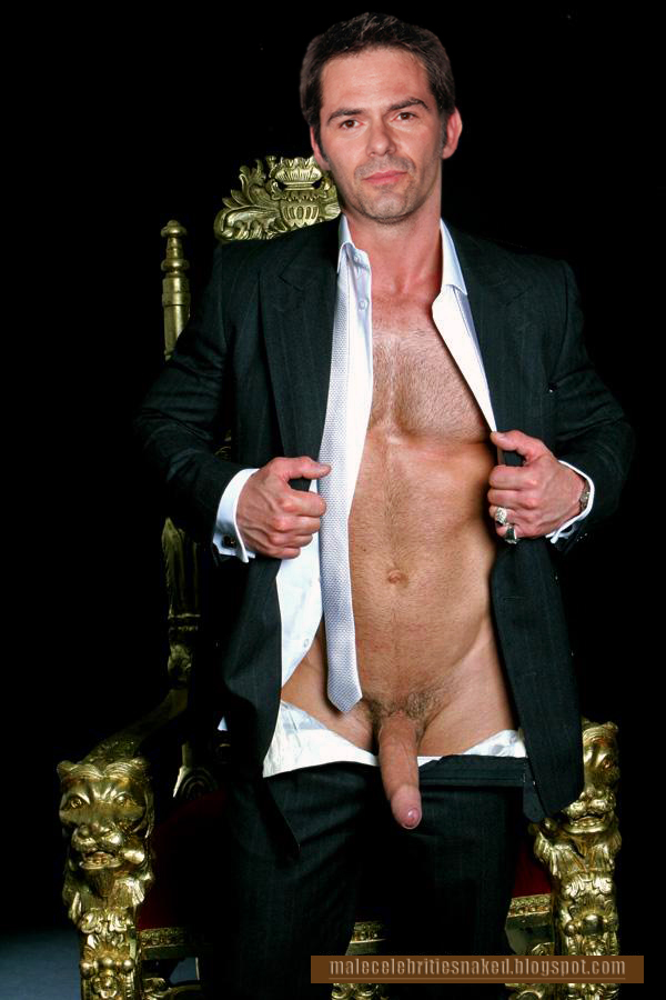 Malecelebritiesnaked: Suited up Billy Burke nearly naked III