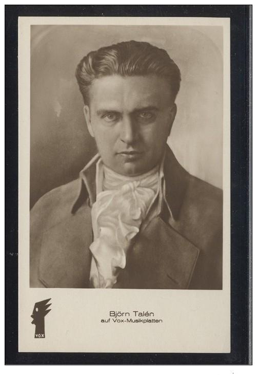 GREAT NORWEGIAN TENOR BJØRN TALÉN (1890-1945) CD