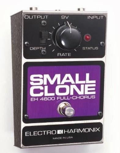 best chorus pedal EHX Small Clone chorus pedal