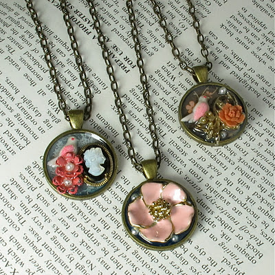 collage pendants
