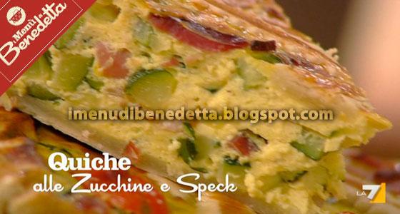 Quiche Zucchine e Speck di Benedetta Parodi