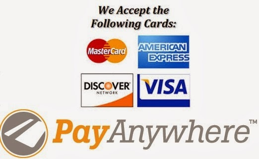 Cards We Accept:
