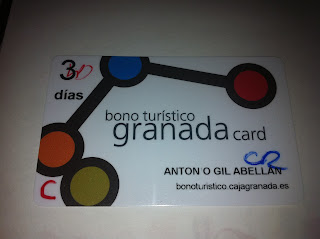 bono turistico 3 dias Granada