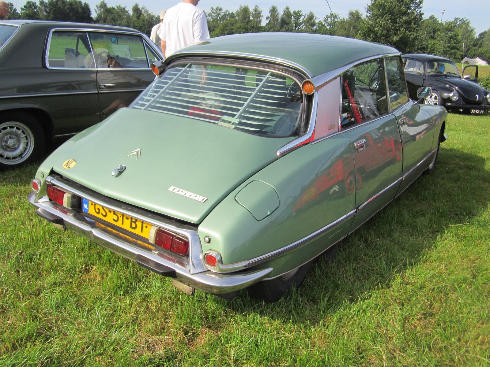 citroen ds 23 pallas 1975 pictures of classic cars. Black Bedroom Furniture Sets. Home Design Ideas