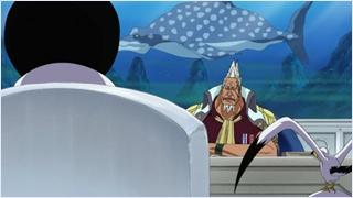 เซนโงคุเข้าพบคองและลาออกจากการเป็นจอมพล