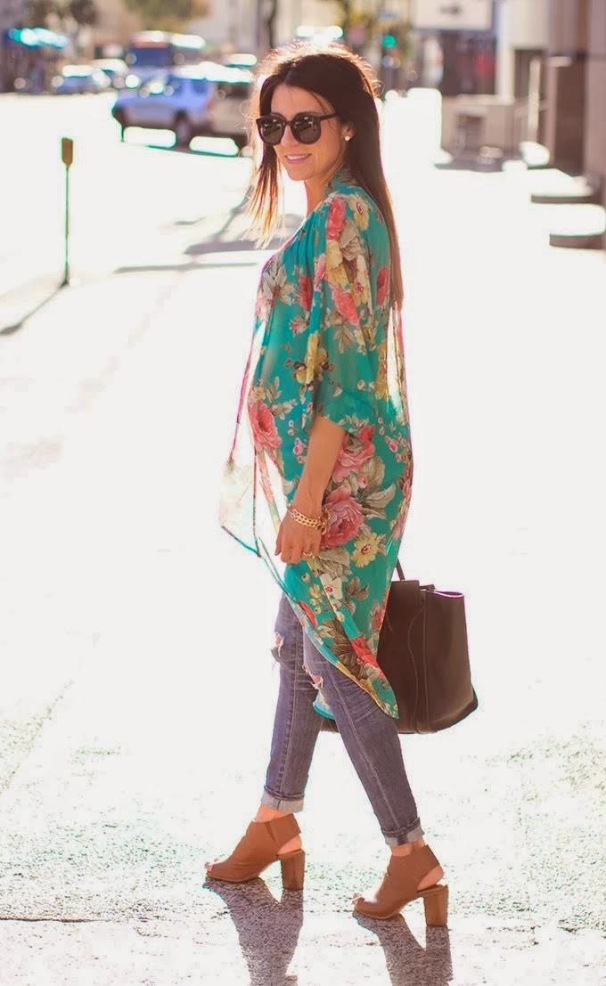 Real Girl Runway: Inspiration - Kimono Styling
