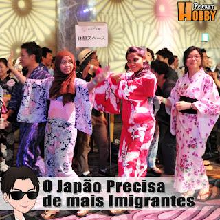 Pocket Hobby - www.pockethobby.com - O Japão Precisa de mais Imigrantes!