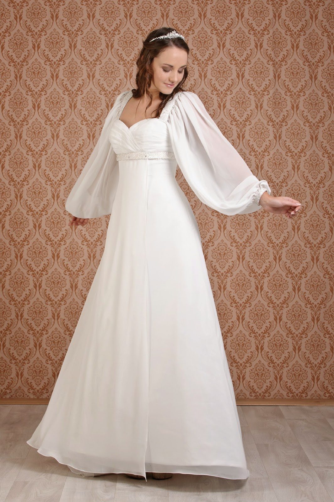 long sleeve wedding dresses fashionip