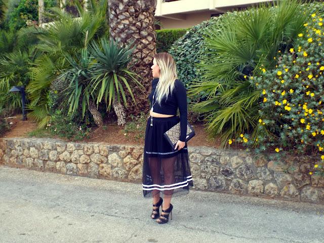 midi style ballet skirt