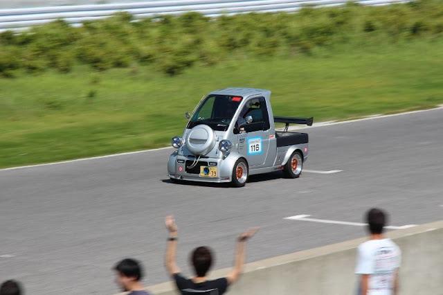 Daihatsu Midget II, K100P, małe samochody, wyścigi, sport, ciekawe auta
