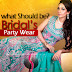 What Should Be Bridal Party Wear - Bridal Evening Formal Suits By Kukoos
