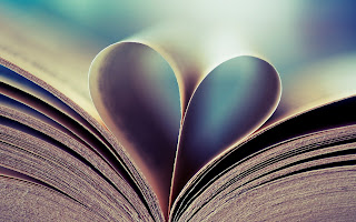 Book Heart Photo HD Love Wallpaper
