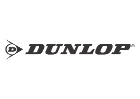 download Logo Dunlop (Black White) Vector