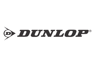 Dunlop (Black White) Logo Vector download free