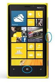 Cara Screenshot HP Dengan Sistem Operasi Windows Phone 8