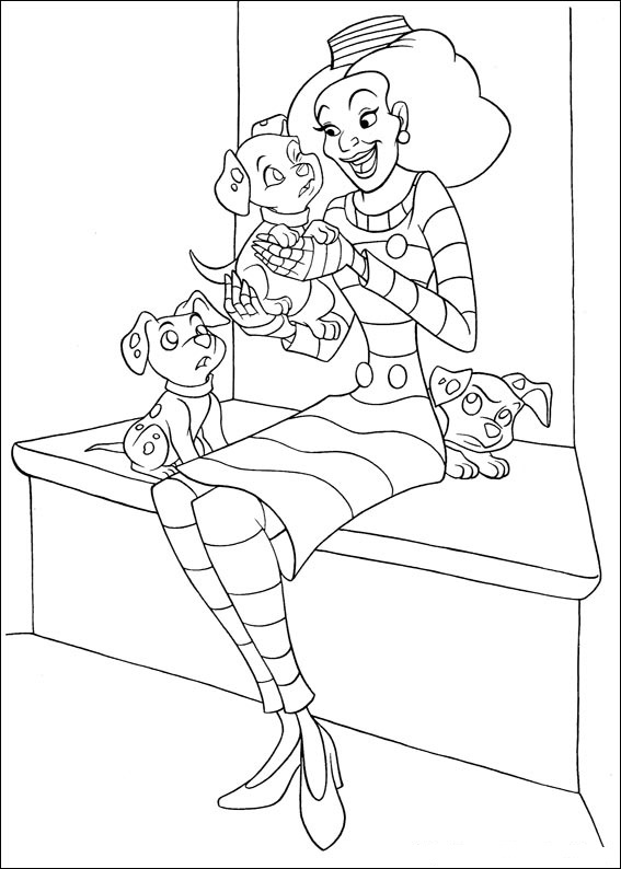 Fun Coloring Pages 102 Dalmatians Coloring Pages