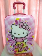 "16"" Hello Kitty Square Trolley Luggage"