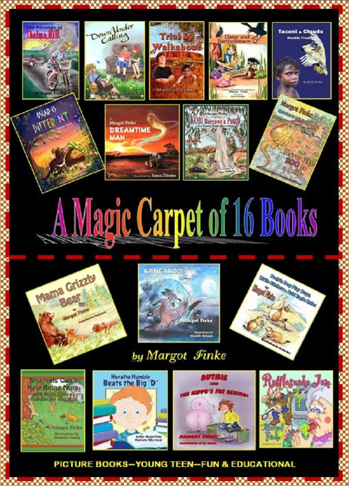 Margot's MAGIC CARPET of BOOKS