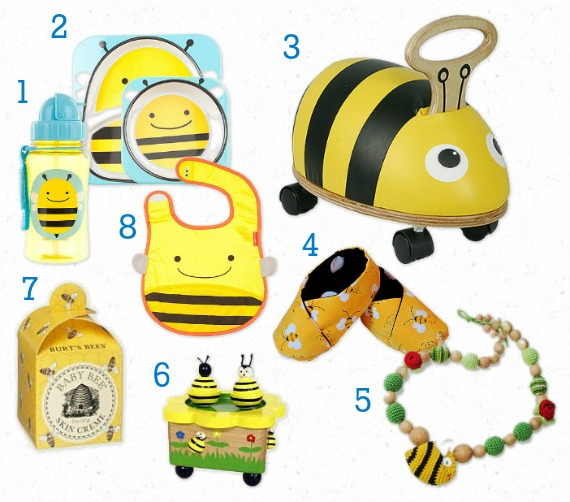 Bee Party Theme Gifts Baby Shower Ideas Kids
